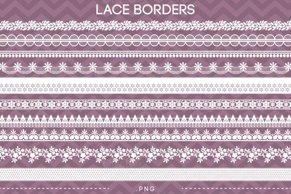 10 Lace Borders III