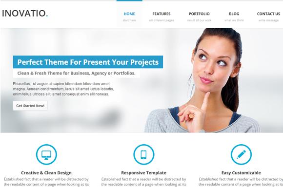 INOVATIO Responsive HTML5 Template