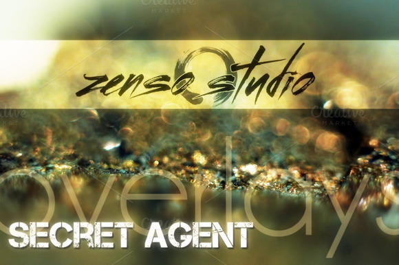 Secret Agent Overlays I