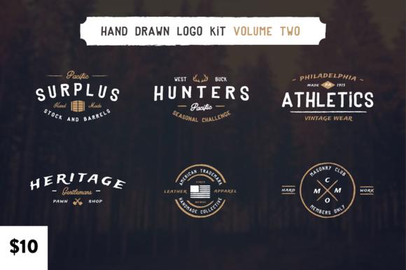 Hand Drawn Logos Volume Two