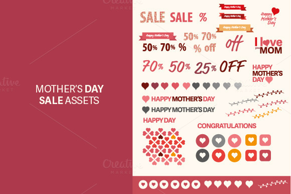 Mother S Day Patterns Sale Assets
