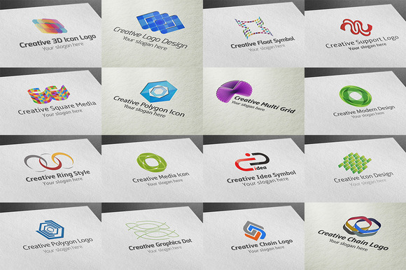 16 Creative Logo Pack