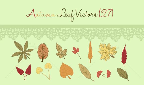 Autumn Leaf Vectors