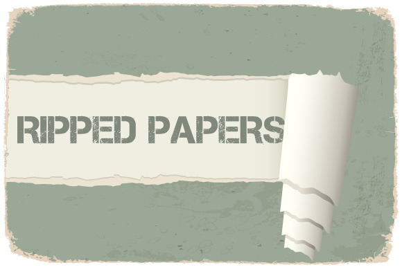Torn Paper And Post-it