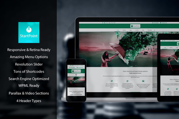 StartPoint Multi-Purpose Theme