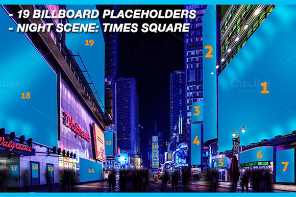 Mock-Ups New York Times Square