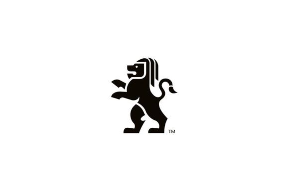 King Creative Lion Logo