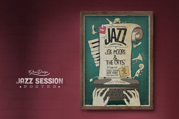 Jazz Session Poster