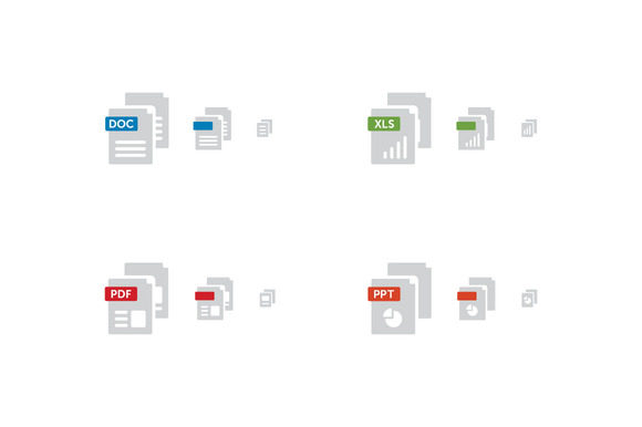 Simple File Type Icons