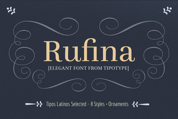 Rufina Font Family 60%OFF