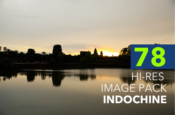 78 Hi-Res Image Pack Indochine