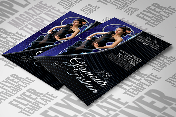 Glamour Fashion Flyer Template