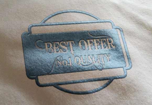 Best Offer No.1 Quality Logo