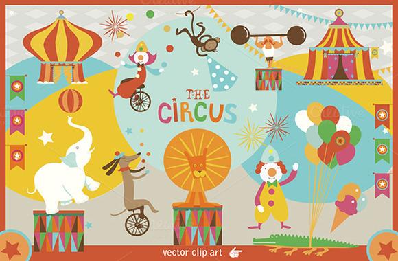 The Circus Clip Art