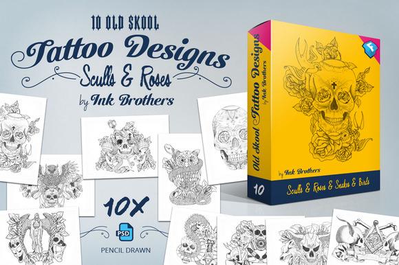 10 Old Skool Tattoo Designs