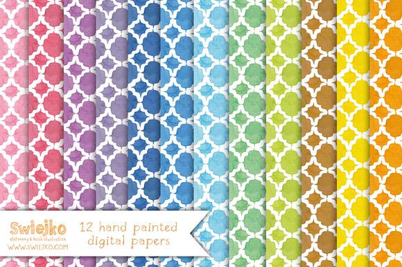 Quatrefoil Paper Moroccan Tile