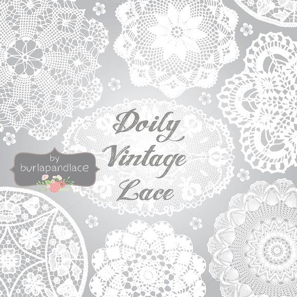 Doily Lace Clipart