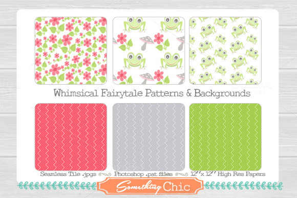 Seamless Fairytale Backgrounds