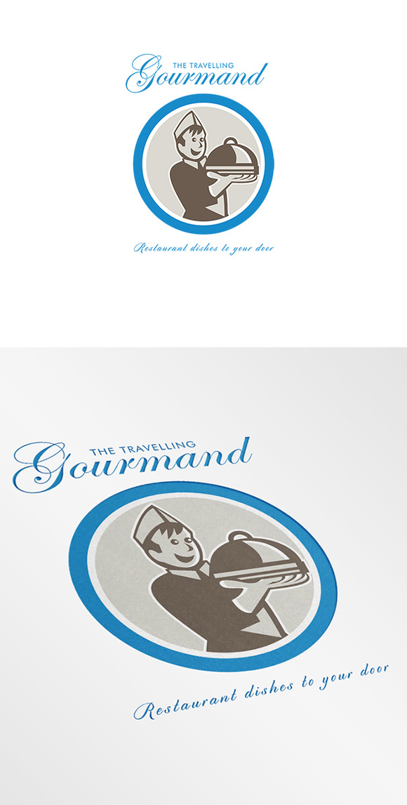 Gourmand Restaurant Logo