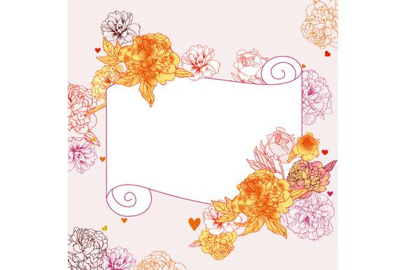 Floral Card Floral Clip-art