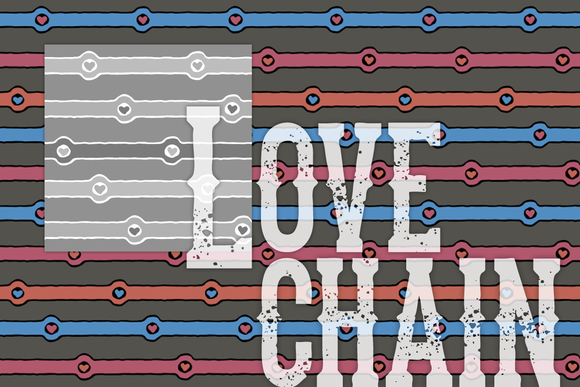 Love Chain Pattern Tile