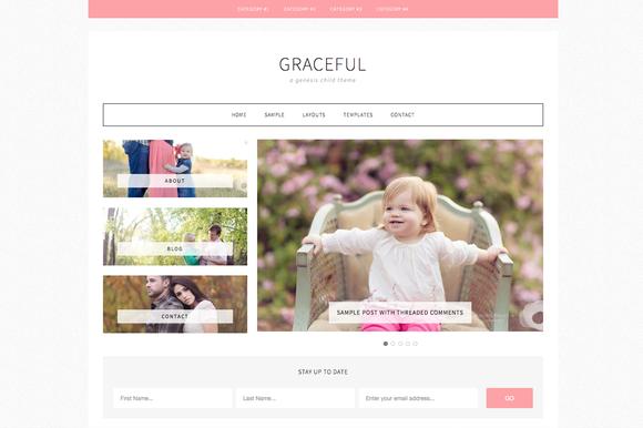 Graceful A Genesis Child Theme