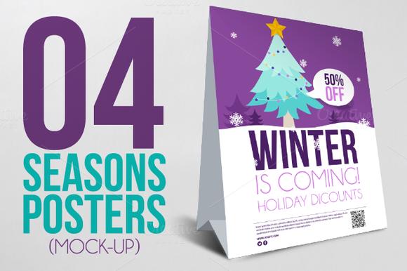 4 Seasons Posters