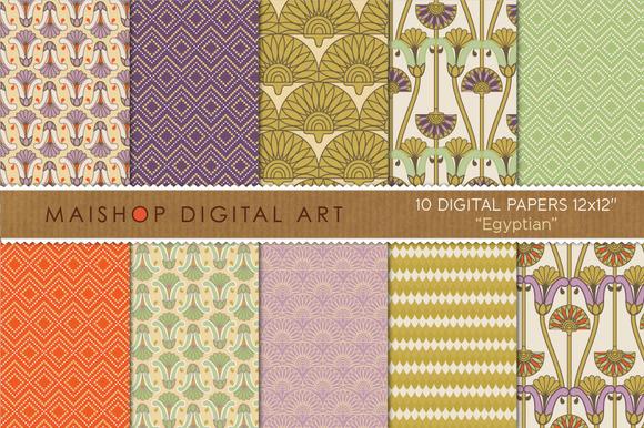 Digital Paper-Egyptian