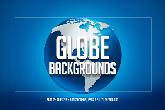Globe Backgrounds