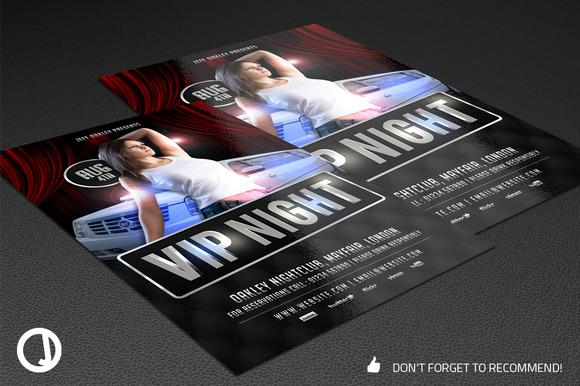 VIP Night Flyer