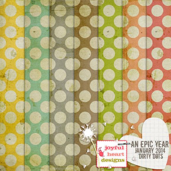 An Epic Year-Jan {dirty Dots}