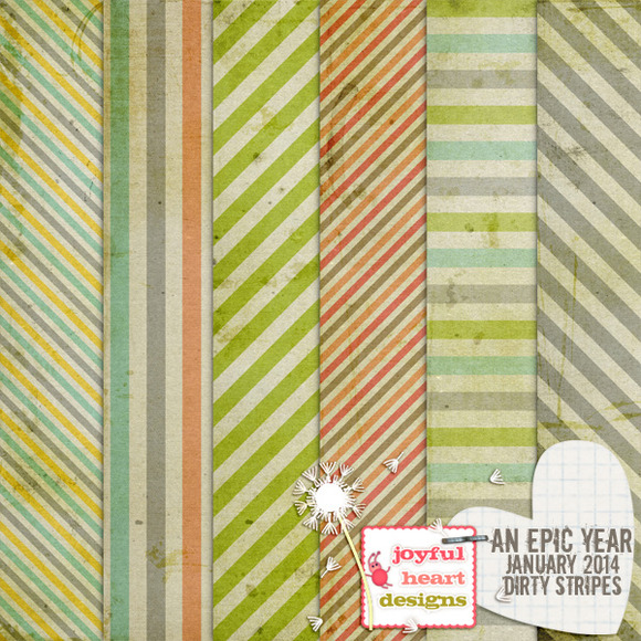 An Epic Year-Jan {dirty Stripes}