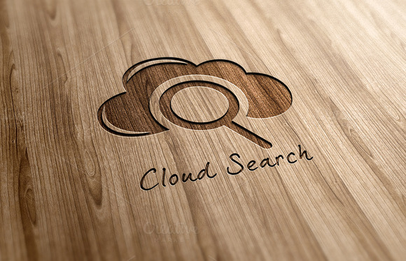Cloud Search Logo Design