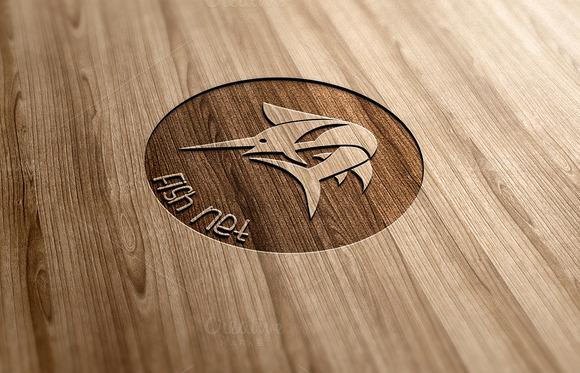 Fish Net Logo Design
