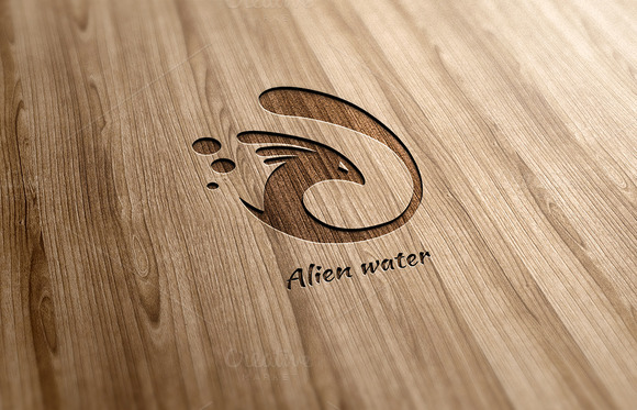 Alien Water Logo Design