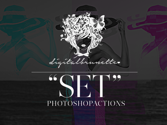 SET Photoshop Actions