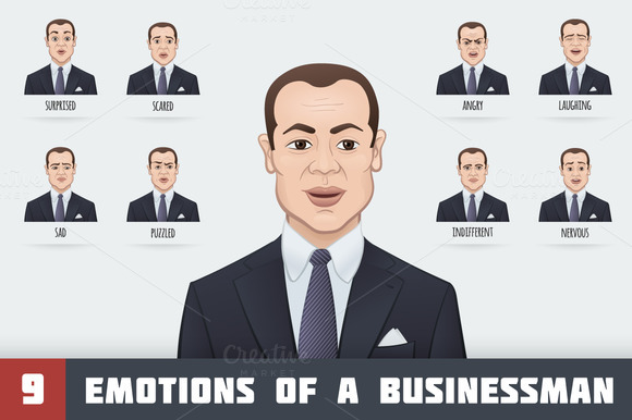 Emotions Of A Businessman