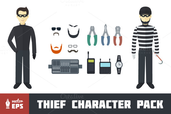 Thief Character Pack