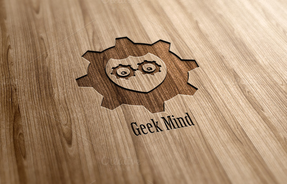 Geek Mind Logo Design