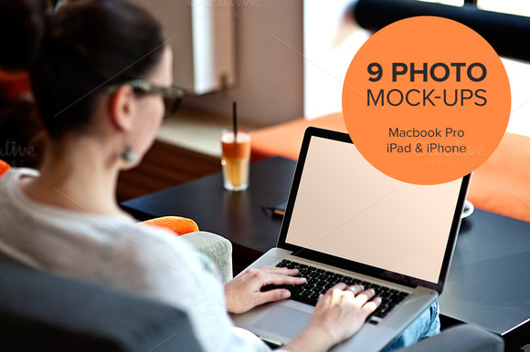 9 Photo Mock-ups Devices