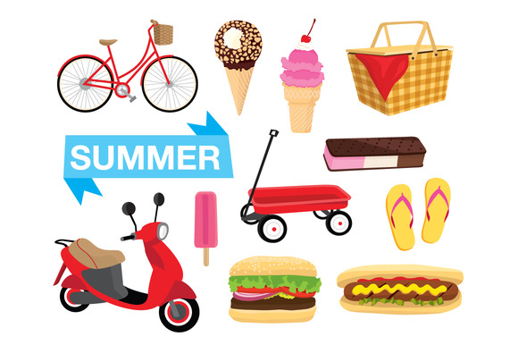 Summer Illustration Vector Pack