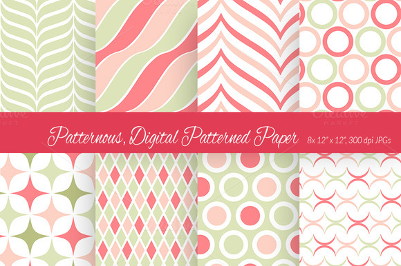 Patternous Digital Paper 1