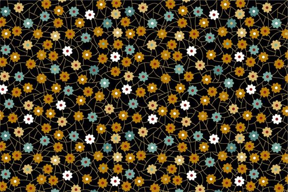 Seamless Pattern Flowers