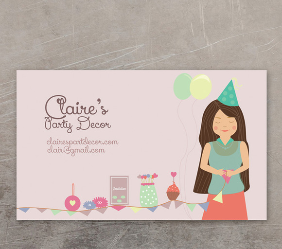 Custom Illustrated Business Card