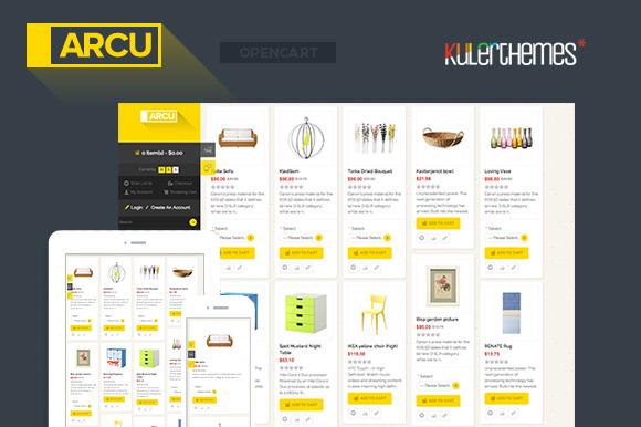 Arcu Responsive OpenCart Template