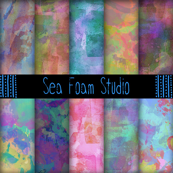 Watercolor Pack A Summer Nights