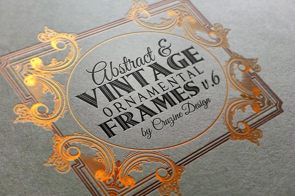 10 Frames Vol.6 Victorian Ornament
