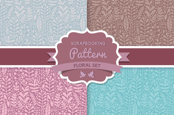 Herbs Seamless Pattern