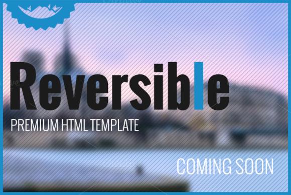 Reversible HTML Premium Template