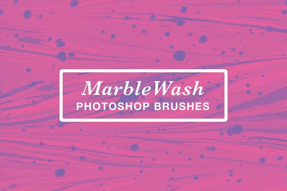 MarbleWash Photoshop Brushes
